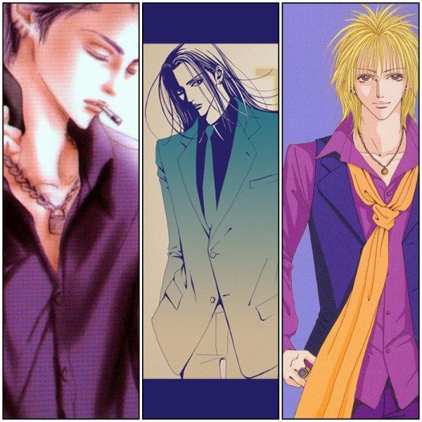 Nana Boy's!! - Qui est  votre préférer : Naoki?Nobu? Yasu? Ren? Takumi ? ou Shin??