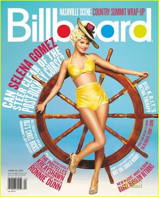 Photo de selena pour le magazine billboard magazine