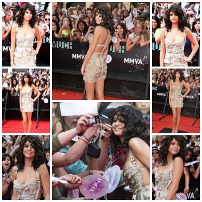 Selena au MMVA
