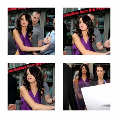 Selena dans l'emission Fox And Friend