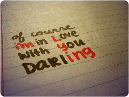 I love you? No I'm lying ;)