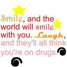 Smile to me...