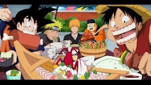 Luffy, Sangoku, Naruto, Ichigo