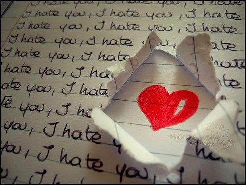I Hate You ♥