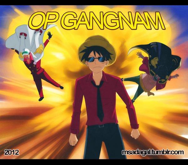 Op Gangnam Style Version Luffy! x)