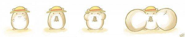 Hamster-Luffy !!