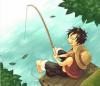 Luffy pêche :3