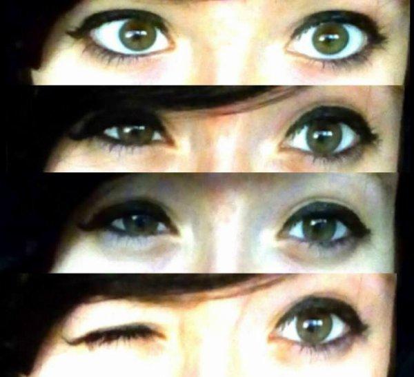 C'est dans ton regarde qu'on voit tout ! <3