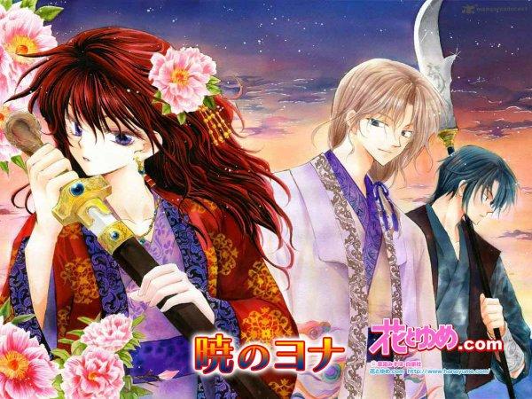 Akatsuki no Yona - mangas à lire !