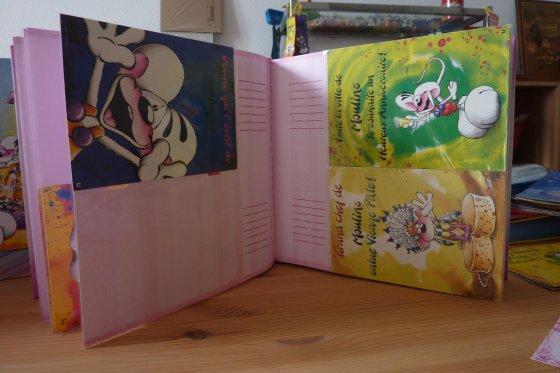 Mes 2 Albums photos (pour cartes postales)