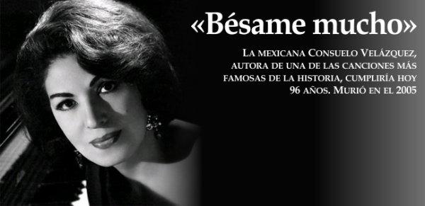 Besame Mucho, Consuelo Velazquez et autres reprises