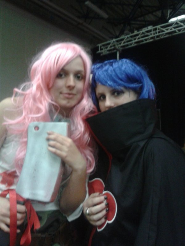 Cosplay de Konan et Tueuse de Zombies