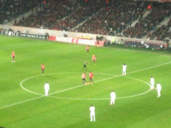Match Lille Lyon en amoureux <3