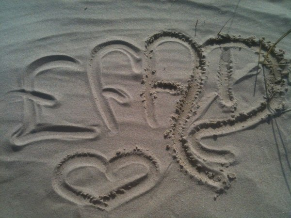 Penser pour Eloise & Felix a la plage <3