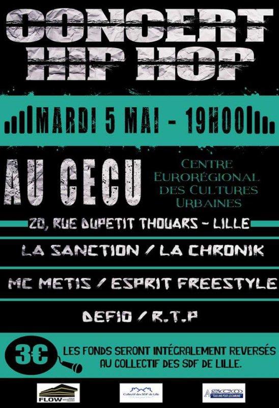 concert tous unis pour les démunis (5 mai 2015 cecu de Lille)