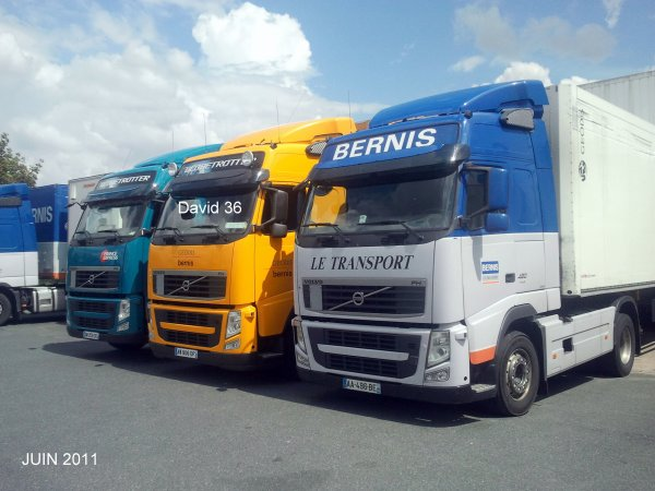 Groupe  BERNIS  GEODIS  FRANCE EXPRESS  (36)