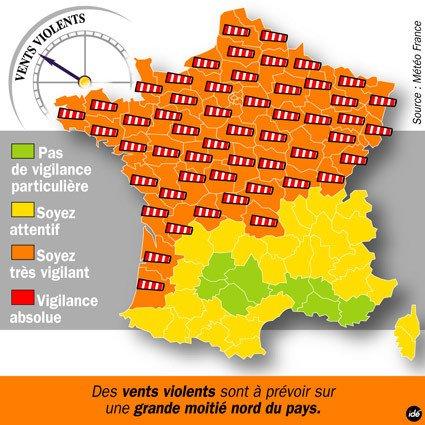 La tempête Miguel s'approche de la Belgique: alerte jaune de l'IRM - Blog Mouscron