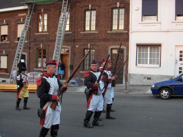 la sortie marche folklorique saint louis Marcinelle ce ces fini