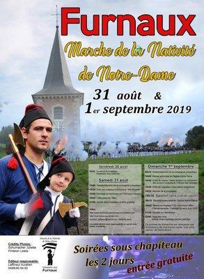 Prochaine sorte Marche de la Nativité de Notre Dame à Fournaux haujolujd houi