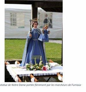 la sortie Marche de la Nativité de Notre Dame à Fournaux ces fini