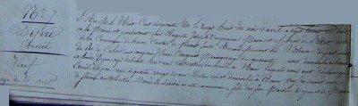 Acte de décès de DIPRE Cornil (27/04/1851 à Ham-en-Artois)