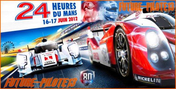 Les 24 heures du Mans 2012