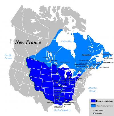 Bonaparte et la Louisiane: I)Introduction, retour de la Louisiane dans la sphère française.