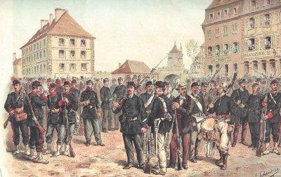 La guerre de 1870-1871: III-A, l'armée française: recrutement et organisation.
