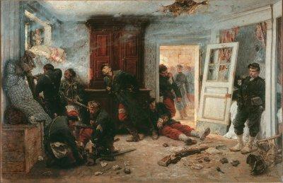 La guerre de 1870-1871: IV, Les opérations. B) La guerre de l'armée impériale.