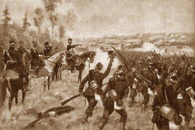 Un conflit: la guerre de 1866. III) Les combats.