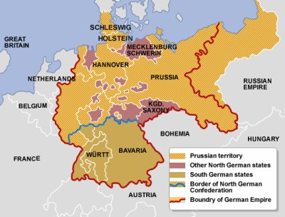 Un conflit: la guerre de 1866. IV) les conséquences.