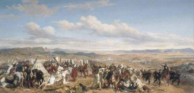 Une bataille: Isly, 1844. I) Les forces en présence.