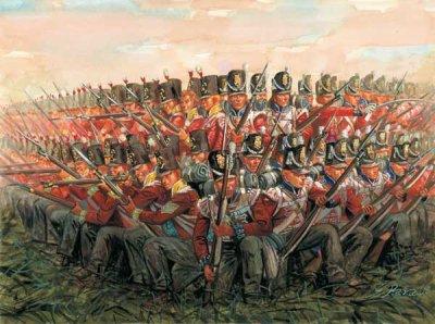 Les formations tactiques napoléoniennes: I) le carré.