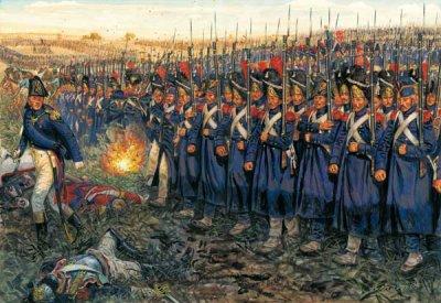 Les formations tactiques napoléoniennes: II) la ligne.