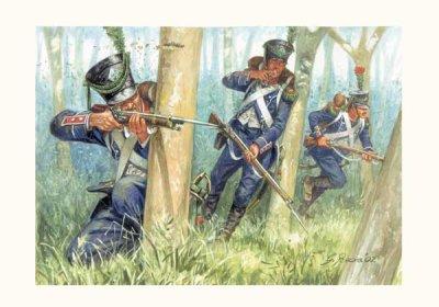Les formations tactiques napoléoniennes: III) le tirailleur.