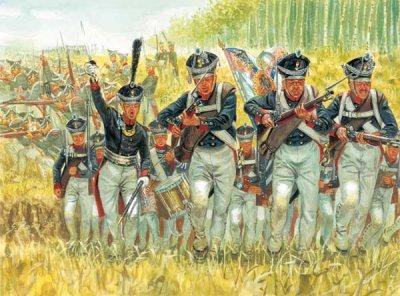 Les formations tactiques napoléoniennes: IV) La colonne.