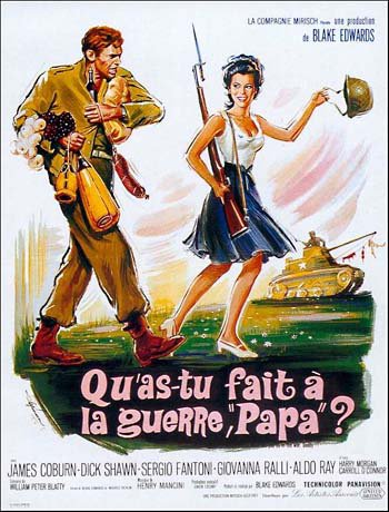 Les films comiques sur la Seconde Guerre mondiale: I) What did you do in the war daddy?