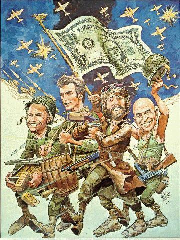 Les films comiques sur la Seconde Guerre mondiale: III) Kelly's Heroes.