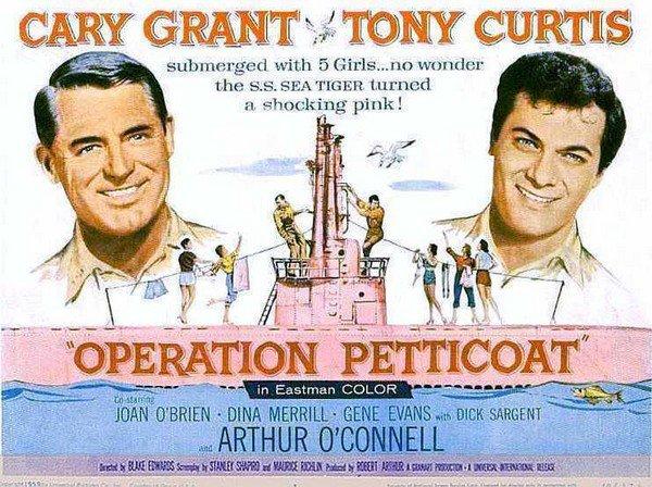 Les films comiques sur la Seconde Guerre mondiale: IV) Operation petticoat
