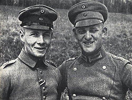 Rommel pendant la 1ère guerre mondiale. I) 1914-1916.
