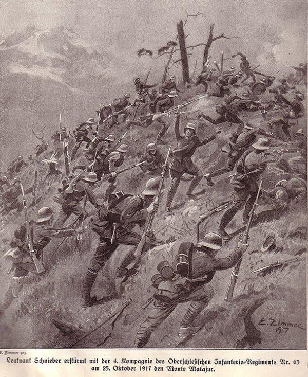 Rommel pendant la 1ère guerre mondiale. II) 1917-1918.