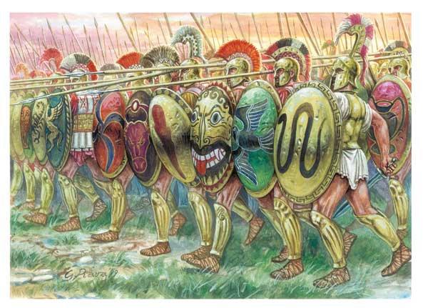 Les mercenaires grecs de l'époque archaïque. I) Introduction.