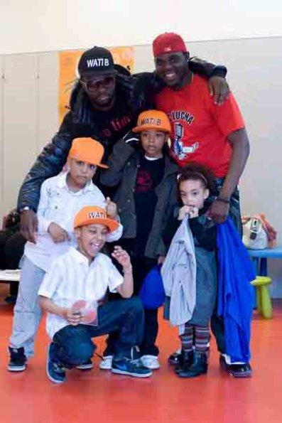 Les Young Boyzz avec Maitre Gims et Mc Lucha!!!