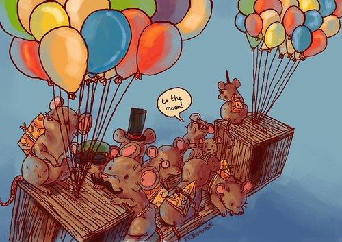 Transformice est un jeu ou tu incarnes une adorable petite souris.