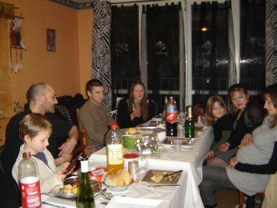 noel a la maison avec la familles a lindy