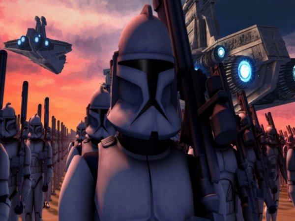 STARWARS - CLONES WARS 3D.