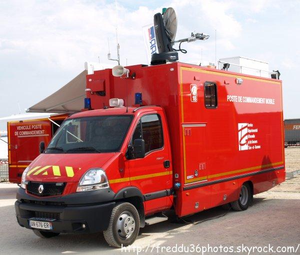 Congrès national des sapeurs pompiers de France : Angoulème 2010