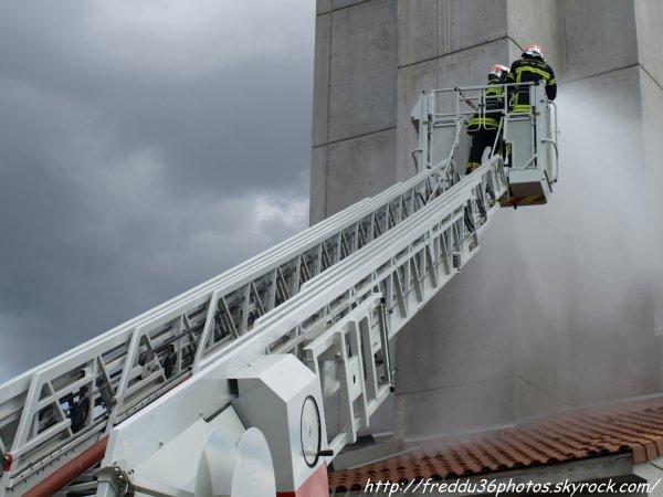 SDIS 41 : portes ouvertes du centre de formation des sapeurs-pompiers du Loir et Cher.
