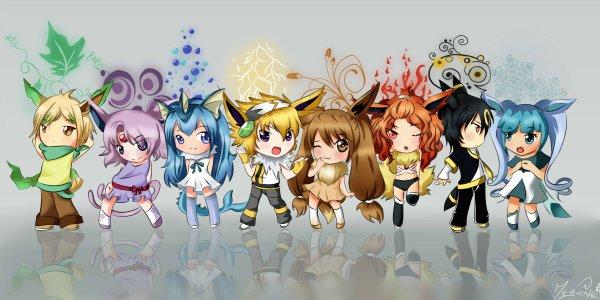 Concours l 39 atelier de megu chan - Famille evoli pokemon ...