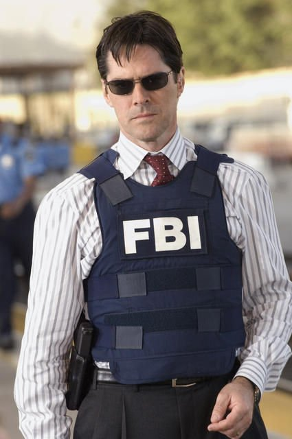 agent sp cial superviseur du fbi bau aaron hotch hotchner thomas gibson tout et n. Black Bedroom Furniture Sets. Home Design Ideas